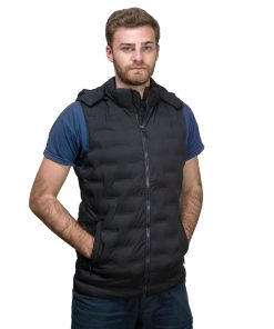 Chaleco Hombre Negro Fifty Five CDL-06