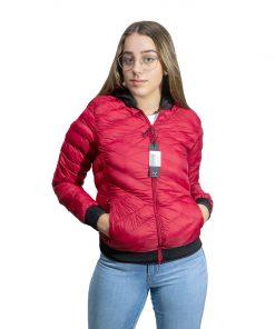 Campera Dama Nylon Rojo Wanna BDL-213