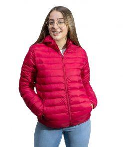Campera Dama Nylon Rojo Wanna BDL-209