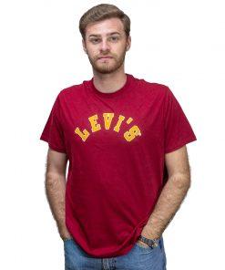 T-Shirt Hombre Bordó Levi´s RHU-292