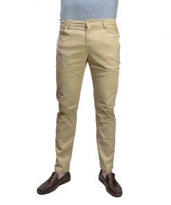 Pantalón Hombre Beige Clásico Halogen PAN-H-1