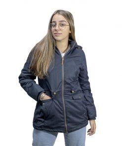 Campera Dama de Abrigo con Capucha Desmontable Legacy CAD-01