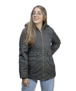 Campera Dama de Abrigo con Capucha Desmontable Legacy CAD-02