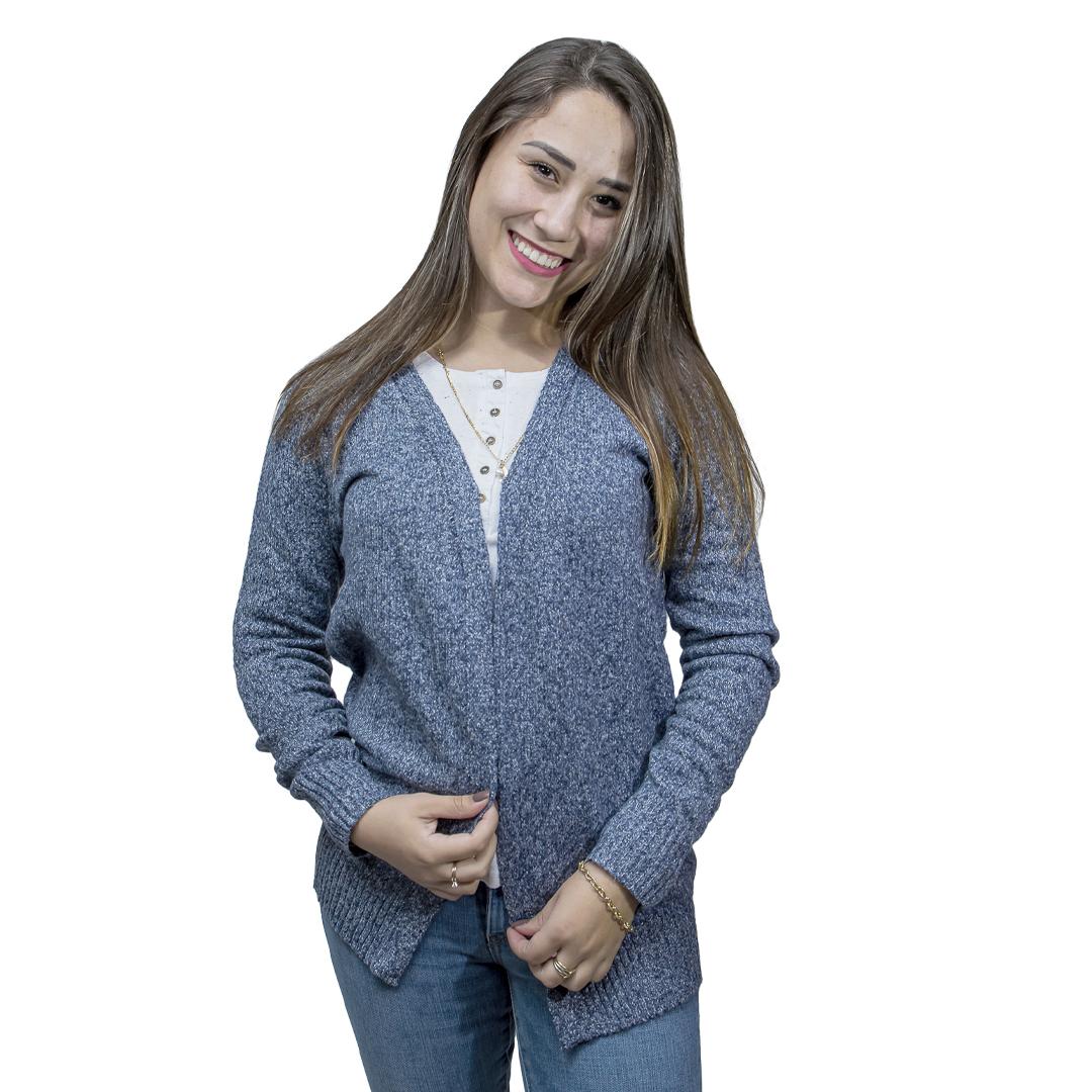 Cárdigan Dama Azul Marino Wanna CAR-01
