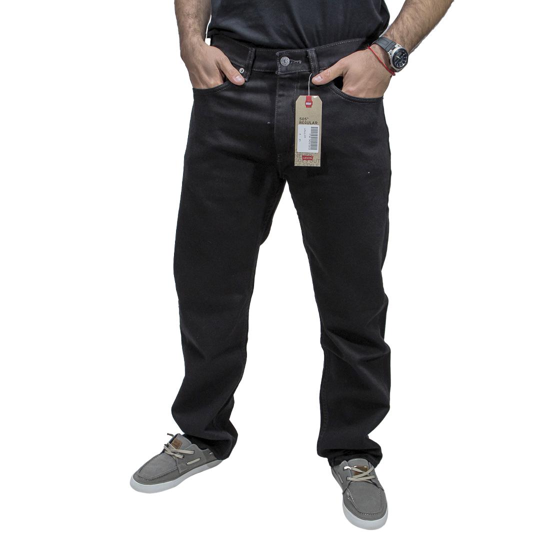 Jeans Hombre Negro Levi´s 505 JEH-44