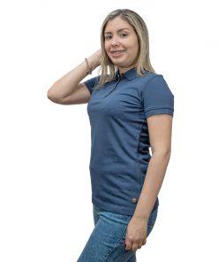 Remera Dama Polo Azul Legacy Woman REM-D-85