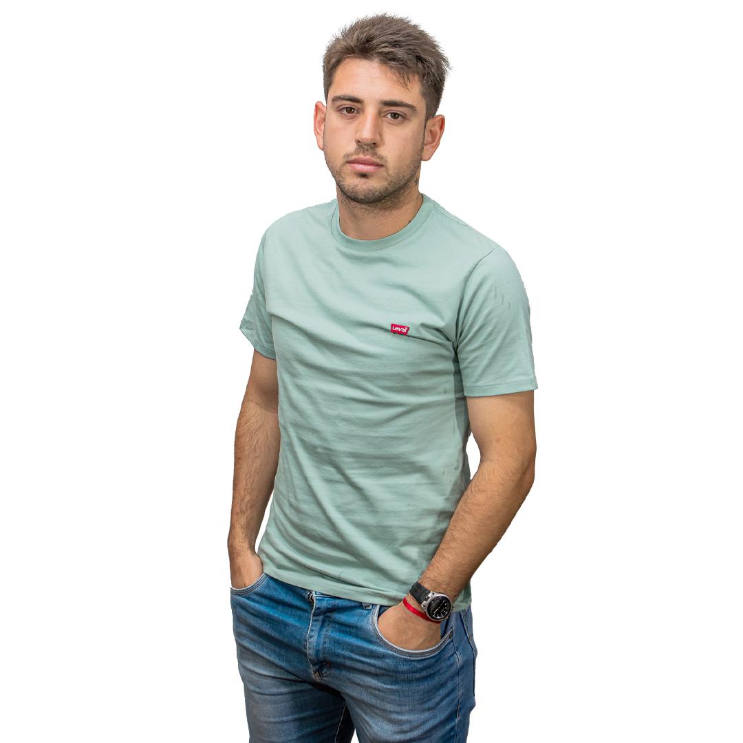 T-Shirt Hombre Verde Levi´s RHU-318