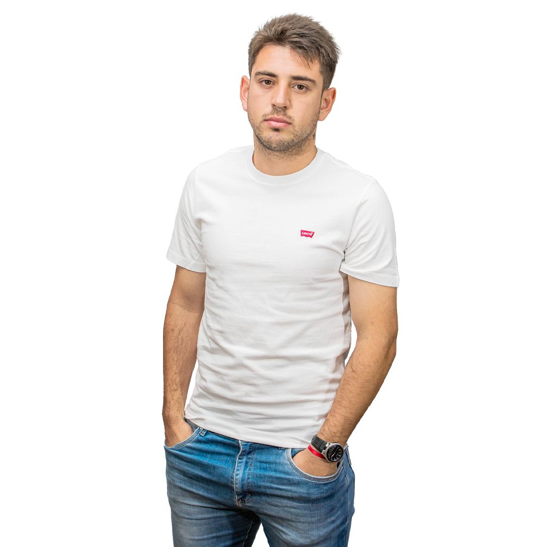 T-Shirt Hombre Blanco Levi´s RHU-319