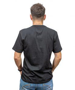 T-Shirt Hombre Negro Legacy RHU-321