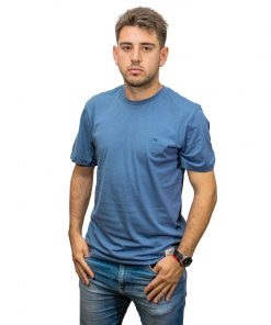 T-Shirt Hombre Azul Legacy RHU-308