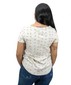 Blusa Dama Blanco Estampado Legacy BWS-304