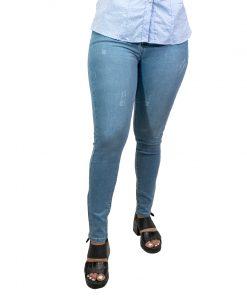 Jeans Damas Wanna Celeste JEA-M-48