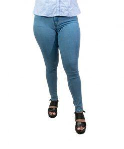 Jeans Damas Wanna Celeste JEA-M-49