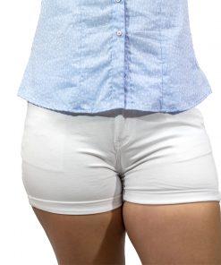Short Jeans Dama Blanco Wanna SHO-D-01