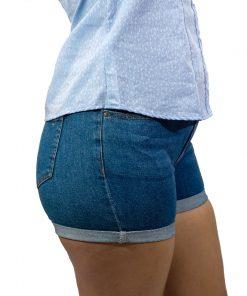Short Jeans Dama Azul Wanna SHO-D-03