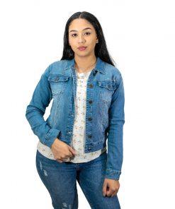 Chaqueta Dama en Jeans Azul Wanna CH-03